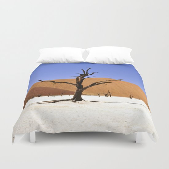 desert tree 4 Duvet Cover