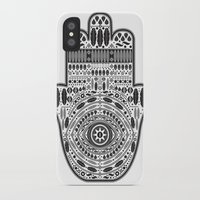 hamsa iPhone & iPod Cases featuring Hamsa by Paint it graphics