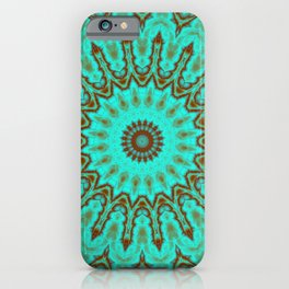 Kaleido in Oxidized Copper iPhone Case
