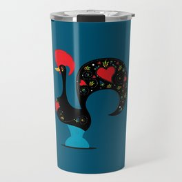 Good Luck Rooster of Barcelos Travel Mug