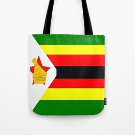 Flag of Zimbabwe Tote Bag