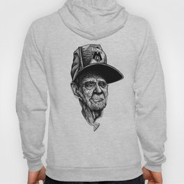 elder man head Hoody