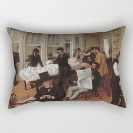 A Cotton Office in New Orleans Rectangular Pillow
