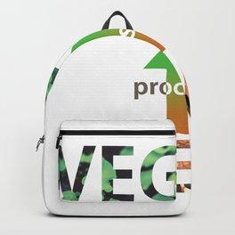 meat to vegan_vathsan Backpack
