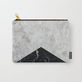 Concrete Arrow Black Granite #844 Carry-All Pouch