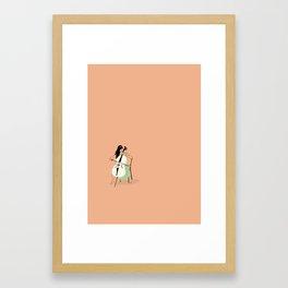 Celloist Framed Art Print