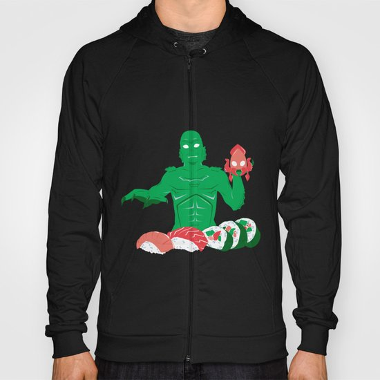 Sushi from the Black Lagoon Hoody