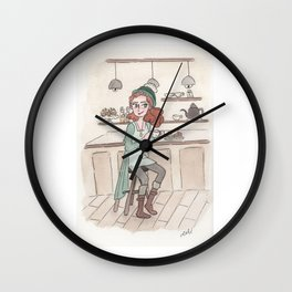 Coffee Love! Wall Clock