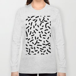 Memphis Candy B&W Long Sleeve T-shirt