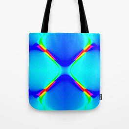 Inverted Road Abstract Tote Bag