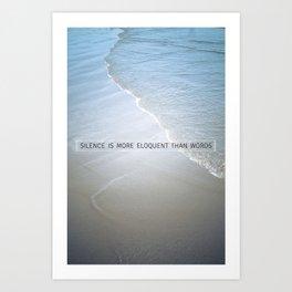 Eloquence Art Print