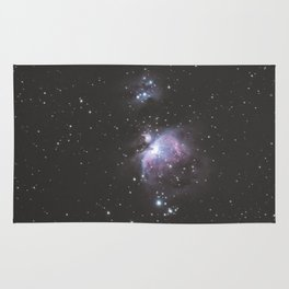 Orion And Running man Nebula's Rug