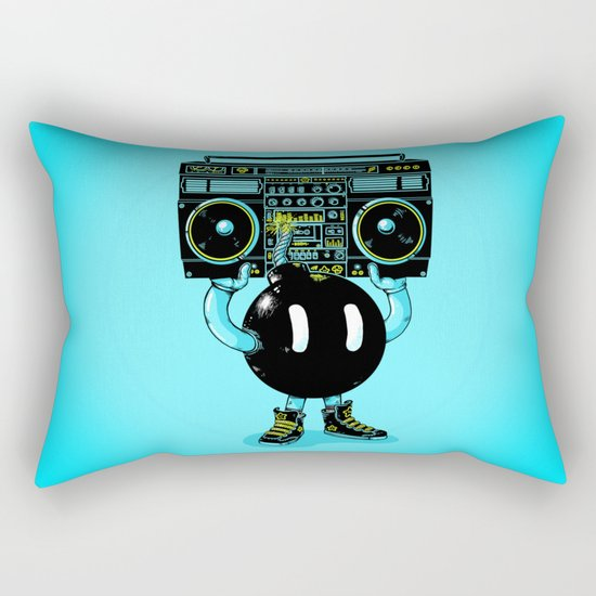 BOOMBOX Rectangular Pillow