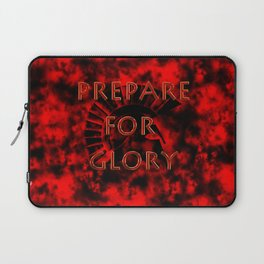 Prepare for Glory-Spartan Warrior Laptop Sleeve