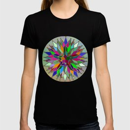 Mandala #106, Star Burst T-shirt