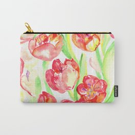 Mothers Day Tulips Carry-All Pouch