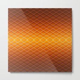 heater Golden Metal Print
