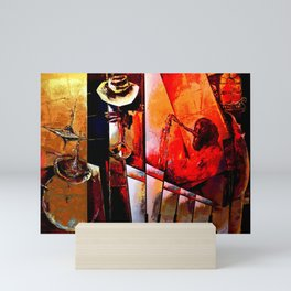 Modern Jazz Mini Art Print