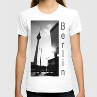 berlin T-shirts featuring Berlin by Falko Follert Art-FF77