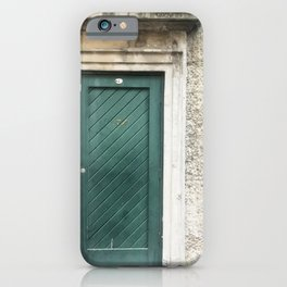 Number One Green Door iPhone Case
