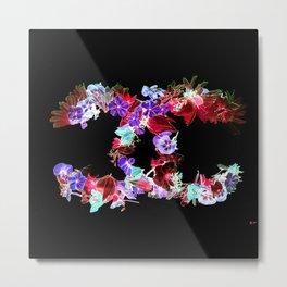 Floral Fashion Metal Print
