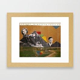 January 1941 Framed Art Print