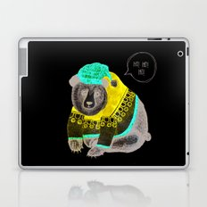 Christmas Bear Laptop & iPad Skin