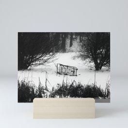 Winter Chaos Mini Art Print