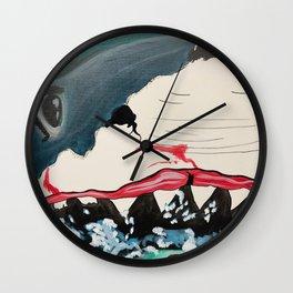 Jaws Shark Wall Clock