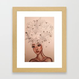 Duo tone remastered Framed Art Print