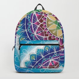 glowing mandala Backpack