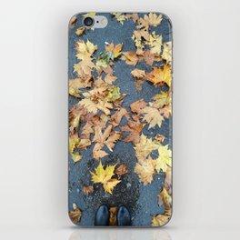 Autumn Floor iPhone Skin
