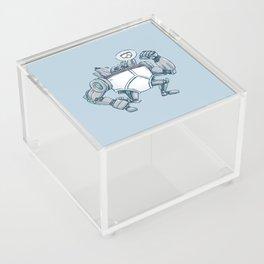 Uber UnderwearBot Acrylic Box
