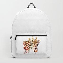 Giraffe Head Backpack