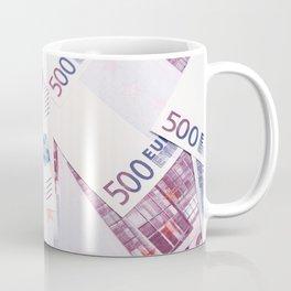 500 Euros bills Coffee Mug
