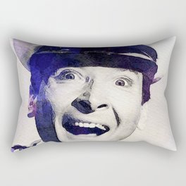 Kenneth Williams, Carry On Actor Rectangular Pillow