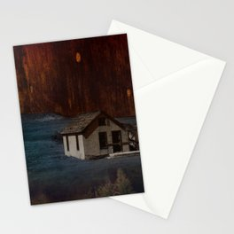 The Surface of Solitude-Hardship Stationery Cards