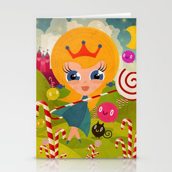 Caramel Princess Stationery Cards