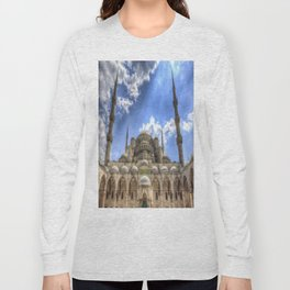 The Blue Mosque Istanbul Long Sleeve T-shirt
