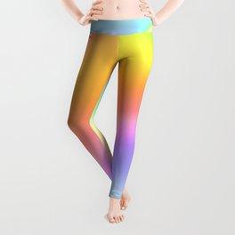 Bright Prismatic Rainbow Design! Leggings