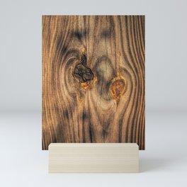 Wood Knots Mini Art Print
