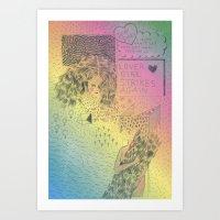 ** lovergirl ** Art Print