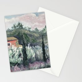 Olive trees, Provence Stationery Cards