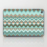 aztec iPad Cases featuring Aztec by Priscila Peress