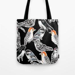 Black Birds Tote Bag