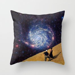 Speculating Throw Pillow
