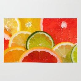 Simply Citrus, Orange Lemon and Mandarin Rug