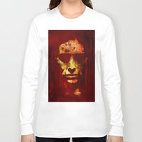witch Long Sleeve T-shirts featuring witch by Ganech joe