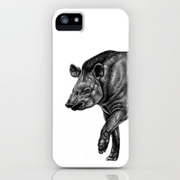 Brazilian Tapir iPhone Case