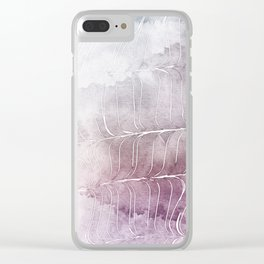 Finee Finese Mauvelous Clear iPhone Case